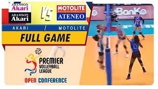 PVL OC 2018: Adamson-Akari vs. Ateneo-Motolite   Full Game   1st Set   November 11, 2018
