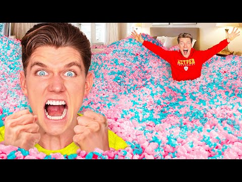 10 Funny Pranks + 24 Hour Prank Wars!!! How To Do Insane Pool Pranks VS The Best Candy Challenge