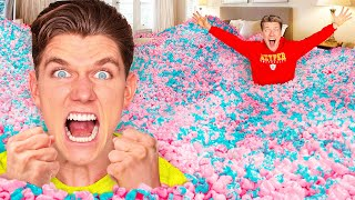 10 Funny Pranks + 24 Hour Prank Wars!!! How To Do Insane Pool Pranks VS The Best Candy Challenge