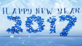 Happy new year 2017|with English new song|celebration