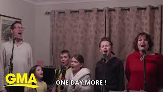 """Family's rendition of 'One Day More' from """"Les Mis"""" is #feels l GMA Digital"""