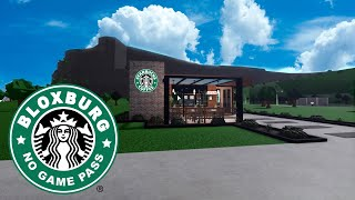 No Gamepass Starbucks Cafe: Roblox Bloxburg Speedbuild + Tour - September 12, 2020, | Minami Oroi