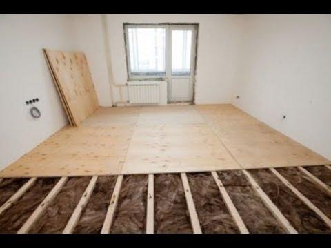 Как класть полы в квартире