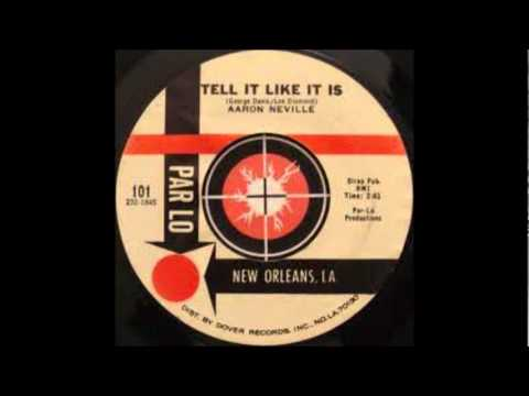 Tell It Like It Is-Aaron Neville-'1966-Par Lo LP 1.wmv