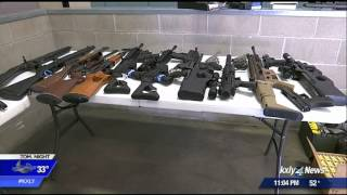 SPD, ATF agents recover dozens of weapons in raid