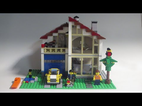 Lego Creator 31012 Family House Review
