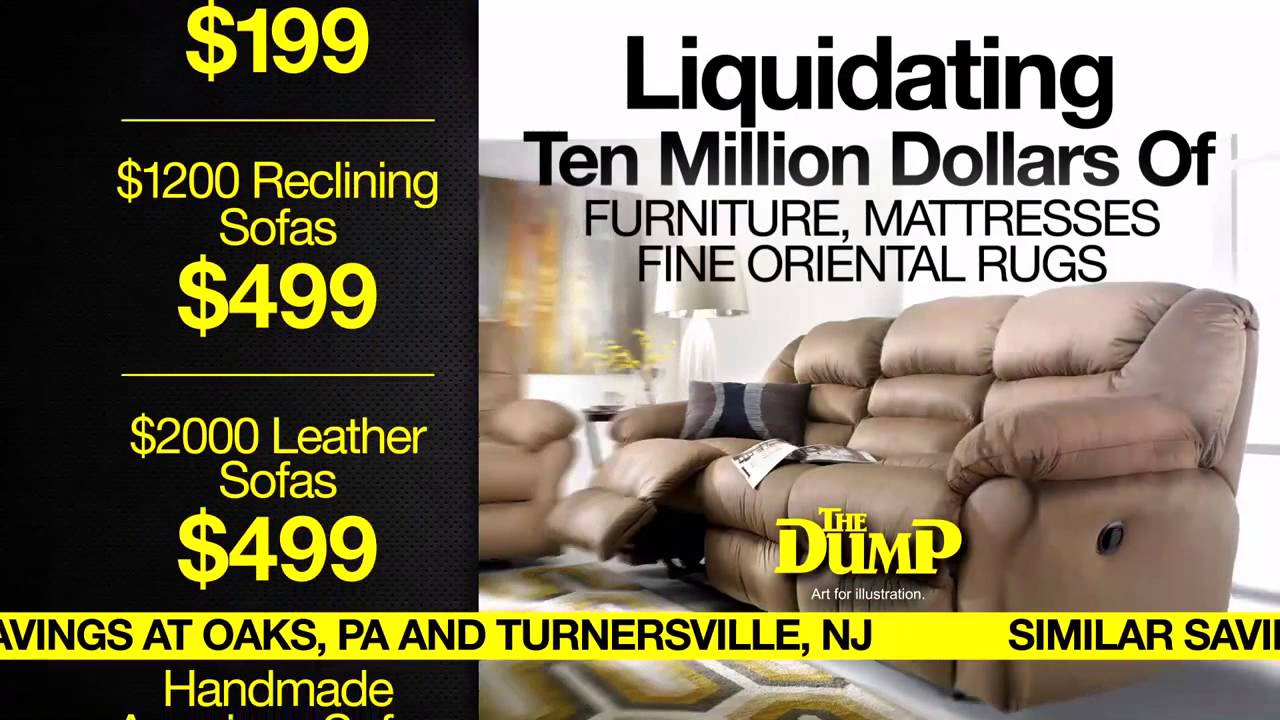 OLD TV COMMERCIAL The Dump Furniture Closing The Dump In Langhorne Forever    YouTube