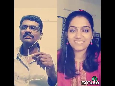 Poonthalir Aada - பூந்தளிர் ஆட - Panneer Pushpangal cover song by Ramesh & Bhairavi