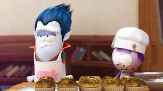Spookiz   A COMER PASTELITOS   Dibujos animados para niños   WildBrain