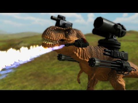 DINOSAUR SOCCER | Beast Battle Simulator #2