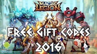 Magic Legion - Age of Heroes FREE Gift Codes 2016