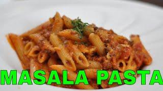 Spicy Masala Pasta Recipe! Indian Style Pasta! Quick and Easy Masala Pasta! Veg Pasta Recipe