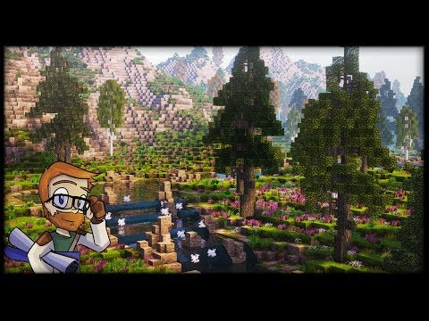Custom River Valley Biome TIMELAPSE + DOWNLOAD #1 :: Conquest Reforged 1.10.2