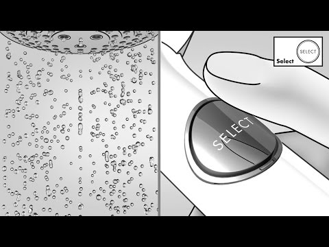 Hansgrohe Select technology for showers