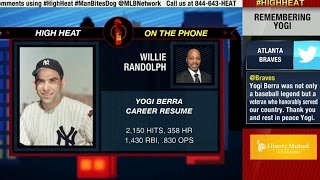 Willie Randolph remembers Yogi Berra on High Heat