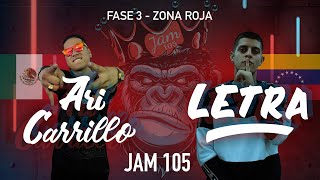 Ari Carrillo vs Letra | Fase 2, Zona Roja - Jam 105 Freestyle