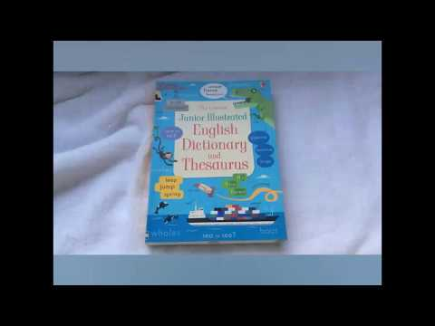 Junior illustrated English dictionary and thesaurus. Usborne