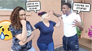 Having My Boyfriend Be Mean To Me In Front Of My Mom To See How She Reacts..*BAD IDEA*