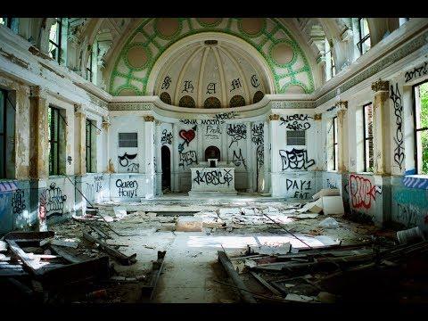 ABANDONED New Orleans Nursing home.( Zhiyun Crane test) BEAUTIFUL!!! ASMR nature sounds.