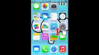 how to setup pptp vpn on iphone ios 7