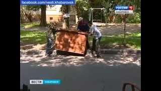 Вести-Хабаровск. Демонтаж незаконных кладовок в подъездах
