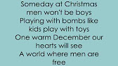 Someday At Christmas Lyrics.Justin Bieber Someday At Christmas W Lyrics