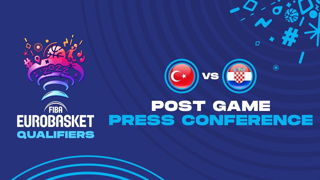 Turkey v Croatia - Press Conference