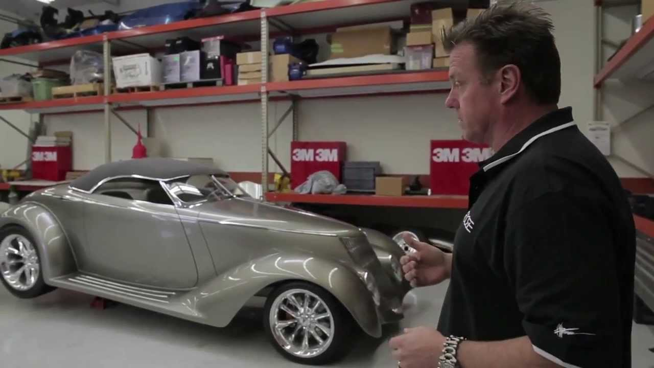 Chip Foose Gives Personal Tour Of Foose Designs Youtube