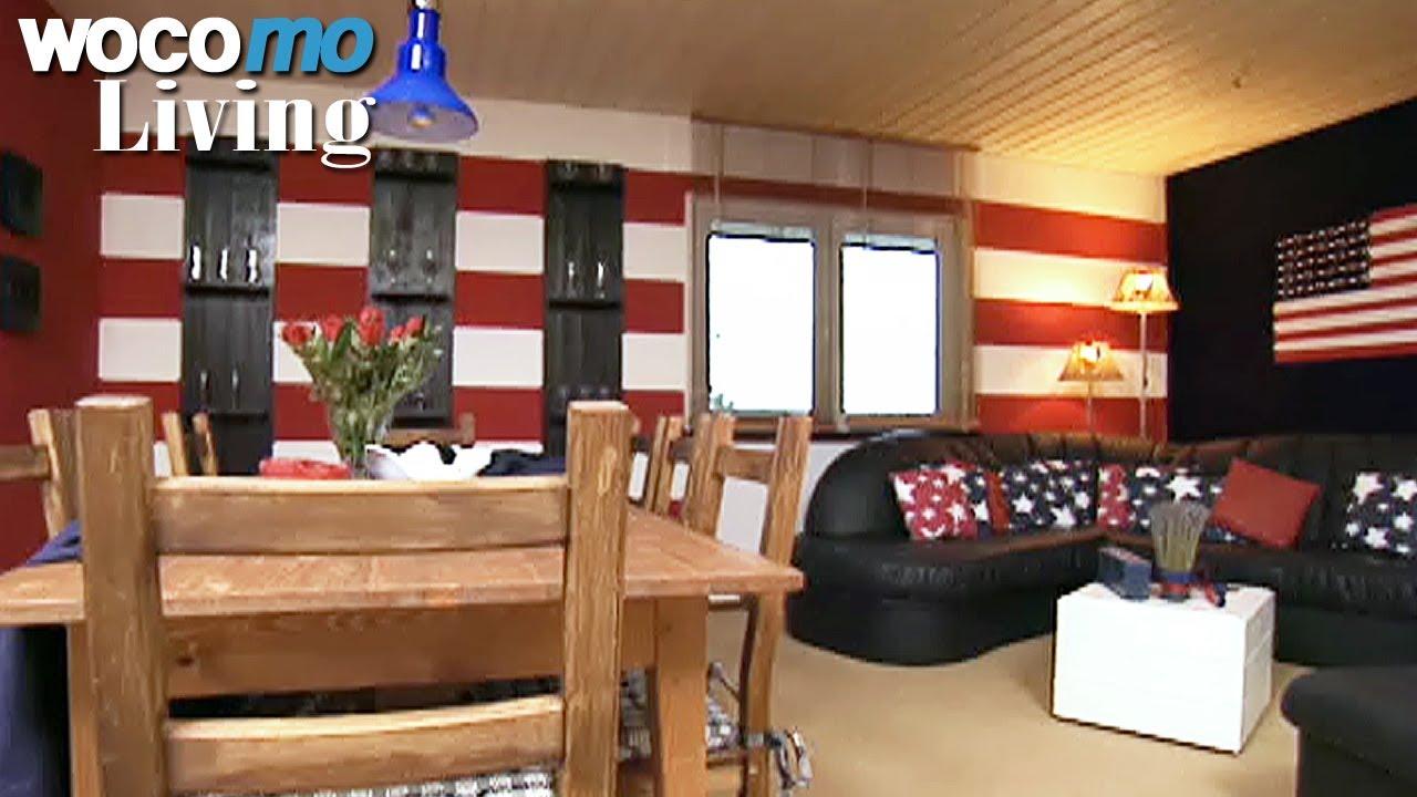 Amerikanisches wohnzimmer einrichten tapetenwechsel br - Amerikanisches wohnzimmer ...