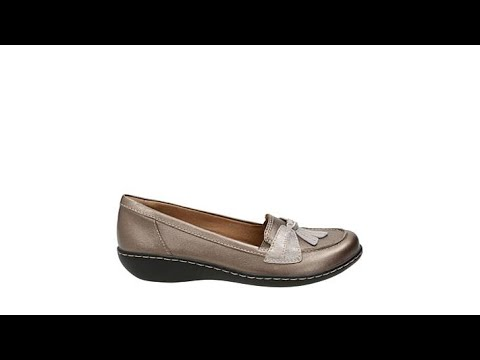 b5c7a471575 Clarks Ashland Bubble Leather SlipOn Loafer