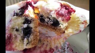 Blueberry And Cherry Cheesecake Cupcake Recipe - Best Cheesecake & Cupcake Combo!