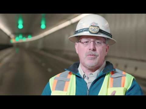 LIOS DE.TECT linear heat detection system installed in the Eisenhower Tunnel