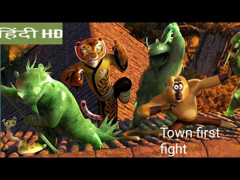 Kung Fu Panda 3 : Hindi movie  first fight scene clips Kaai Vs panda fight .Hindi movie clips