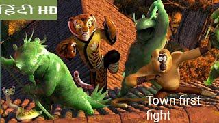 Kung Fu Panda 3 : Hindi movie  first fight scene clips Kaai Vs panda fight .Hindi movie clips