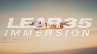 FSFX Packages Lear35 Immersion - Official Video