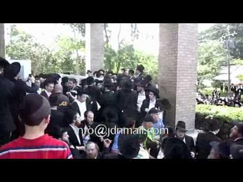 Levaya Of Rabbi Stein In Lakewood s Sivan 5771