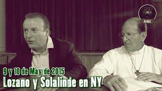 Lozano y Solalinde en NY, grabado por Francisco. De esto no hablan los pejelovers.