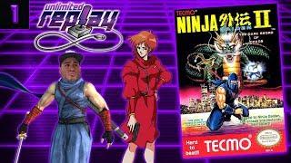Ninja Gaiden II: The Dark Sword of Chaos Live Stream (Part 1) - Unlimited Replay