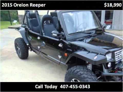 2015 Oreion Reeper New Cars Sorrento FL by CentralFLReeper