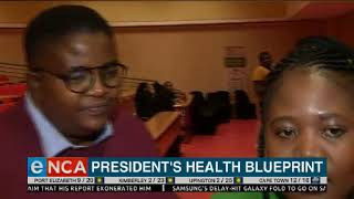 President is presiding over the signing of the Presidential Health Compact
