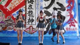 2016.5.29 Team8 能登小木港イカす会の様子です(北玲名、橋本陽菜、近...
