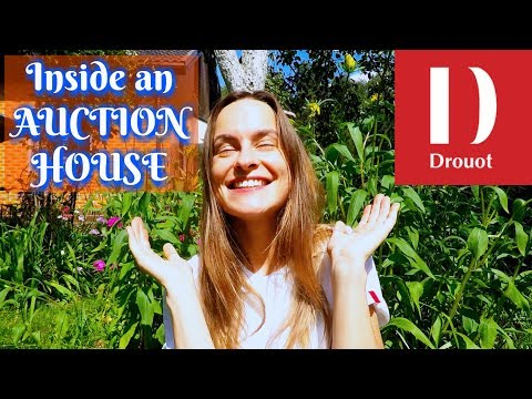 AUCTION HOUSE Tour #1 - Inside DROUOT