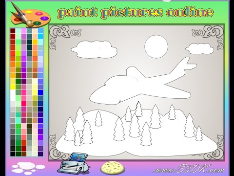 Aeroplane Coloring Pages For Kids