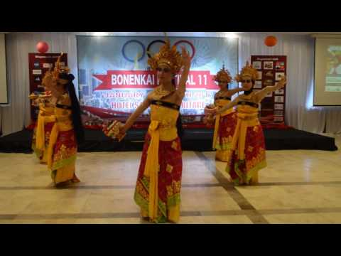 Sekar Jagat , Sanggar Tari Bali Rara & Millenia , Bonenkai 11 - Hotel Salak , 14-15 Jan 2017