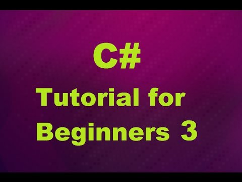 C# Tutorial for Beginners 3 - Built-in Data Types , Escape Sequences and Verbatim literals in C#