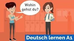 Deutsch lernen mit Dialogen / Lektion 19 / sich vorstellen / Personalpronomen / Akkusativ