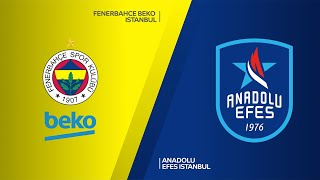 Fenerbahce Beko Istanbul-Anadolu Efes Istanbul Highlights | Turkish Airlines EuroLeague, RS Round 26