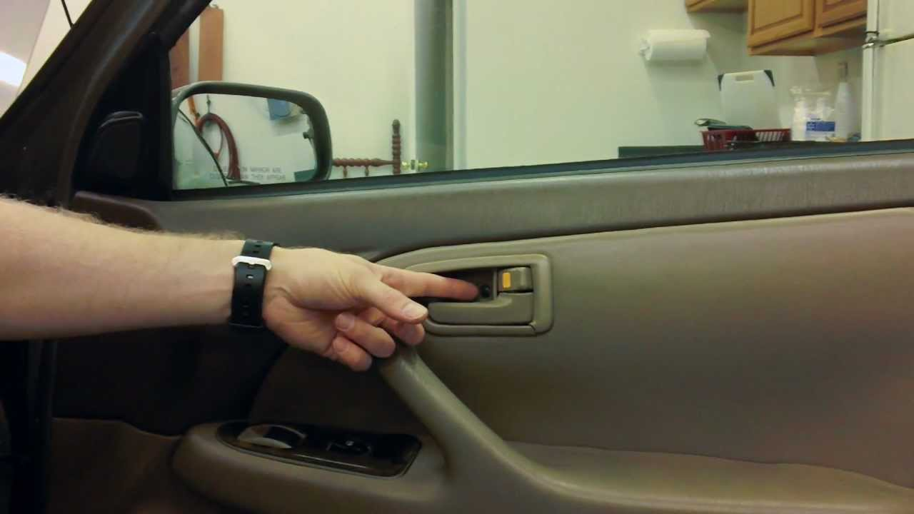 1996 Toyota Camry Interior Door Handle Replacement