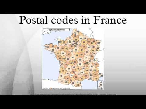 Postal Codes In France