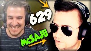 IZAK BĘDZIE OJCEM ! - McSAJU DISUJE PAGO - MASAKRA #629 Najlepsze oddshoty - Saju, LEH ROZDAŁ